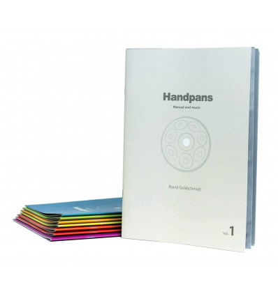 HANDPANs - Manual & music - Ravid Goldschmidt - Books