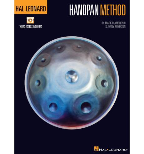 Handpan method - Mark D'Ambrosio & Jenny Robinson - ed. Hal Leonard
