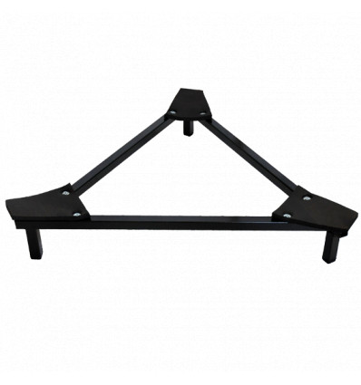 Triangle support for Bass steeldrum