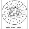 Tenor Lead Low C + sticks - Powder coated